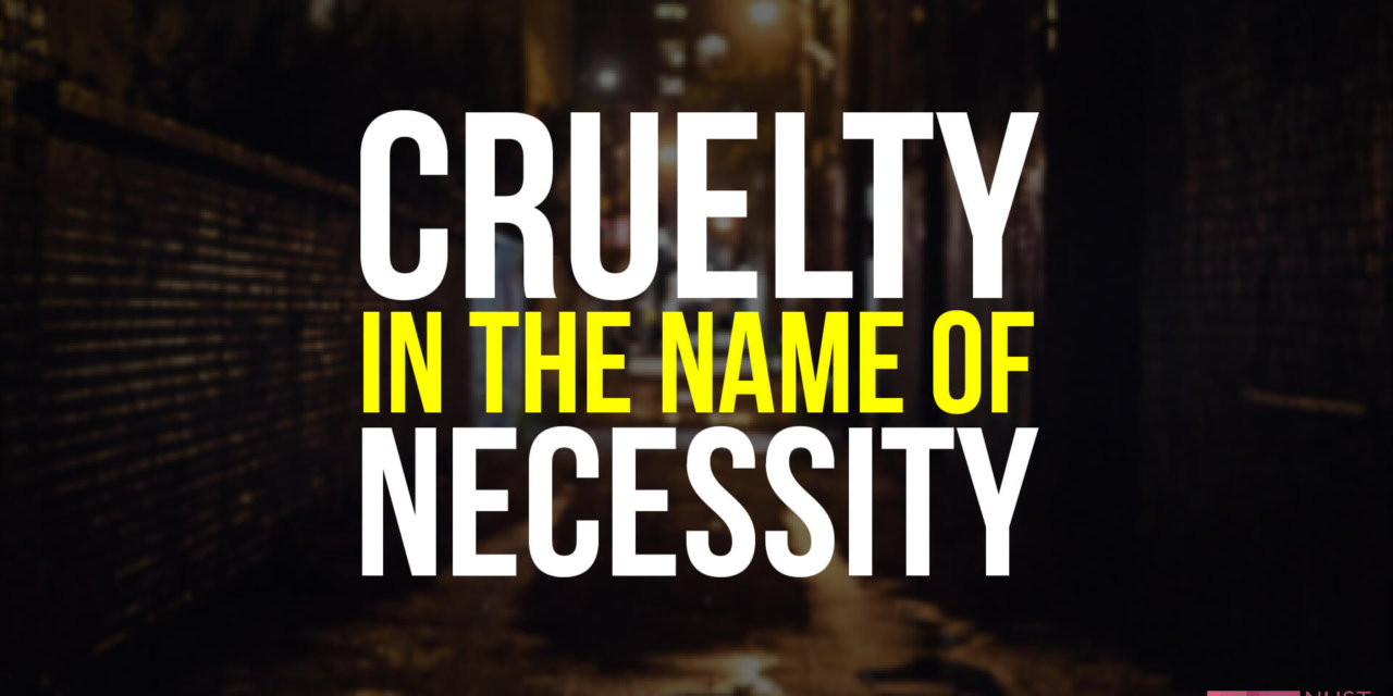 Killing Stray Dogs in The Name of Necessity