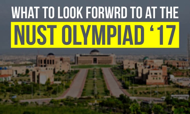 What to Look Forward to at the NUST Olympiad'17