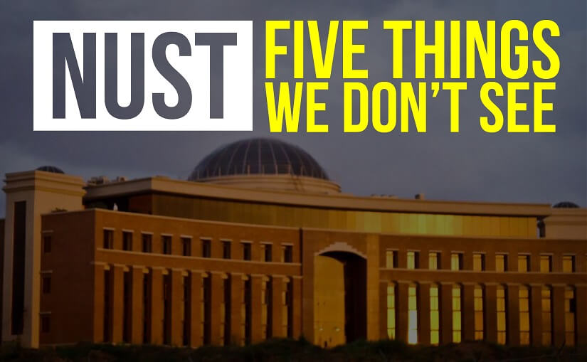 NUST – Five Things We Don't See