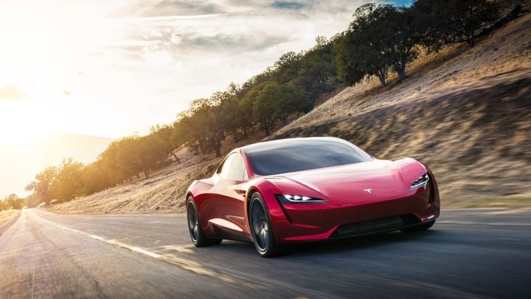 The astonishing Tesla roadster