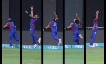 "Pakistan Super ""Catches"" League"
