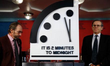 Minutes to Mayhem: Doomsday Clock Reaches 2 Minutes to Midnight