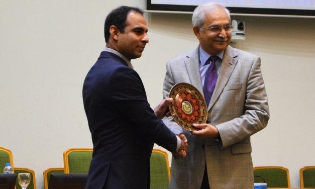 Qasim Ali Shah visits NUST