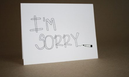 How to Apologize When You Aren't Feeling Sorry