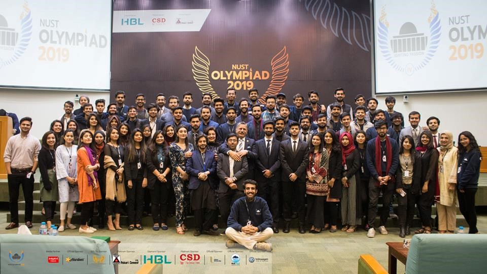 Event Coverage: NUST Olympiad Day 4 - Paper Crush