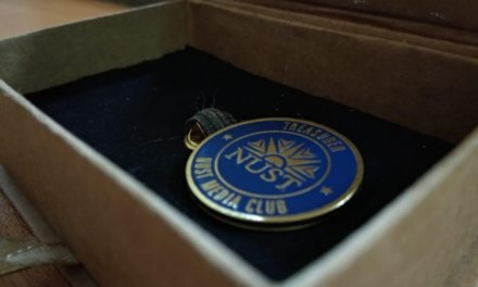 NUST COMMEMORATES AN AUSPICIOUS OB LAPEL PIN AWARDING CEREMONY